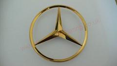Gold Plated Car Badge (PureGoldPlating) Tags: goldplating carbadges caremblems goldplatedcar goldplatedmercedes goldplatedbadge