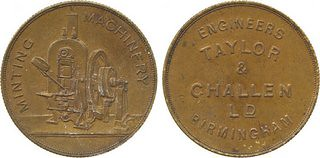 Taylor & Challen medal
