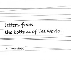 letters from the bottom of the world