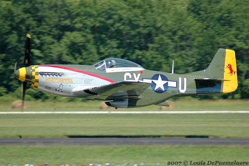 "North American P-51 Mustang ""Gunfighter"""