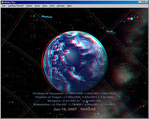 Mitaka Plus-Earth-anaglyph-image00746