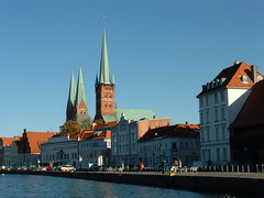 Lubeck 2003 (ianw2007) Tags: river germany lubeck trave