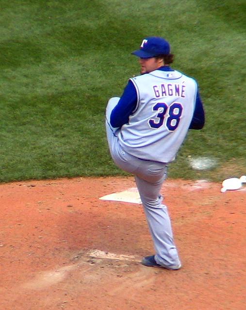 Texas Rangers closer, #38 Eric Gagne