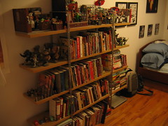 IMG_5691.JPG (VitaminSteve) Tags: new york newyork art ikea kitchen brooklyn comics movie t table toys book hall dvd bed bedroom comic apartment graphic mr action pages spiderman books superman hallway shelf couch collection actionfigures page batman williamsburg comicbooks movies novel graphicnovel urbanvinyl figures shelves collectibles lionelrichie collector graphicnovels novels menudo scottpilgrim