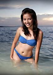 Ladz (Ryan Macalandag) Tags: girls sexy beach beautiful beauty lady portraits romance bikini portraiture pageant tagbilaran swimsut misstagbilaran2007