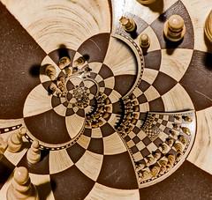Chess Board External Trans Both Poles Droste