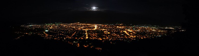 Night Panorama @ Full Moon