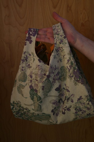 The lilac bag