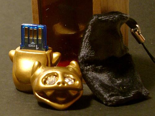 Gold Data Hunter USB Drive
