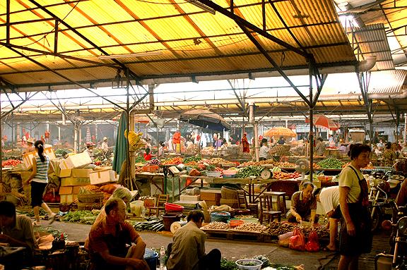 Yangshuo Street Market