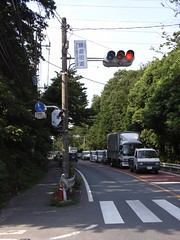 鎌倉街道交差点