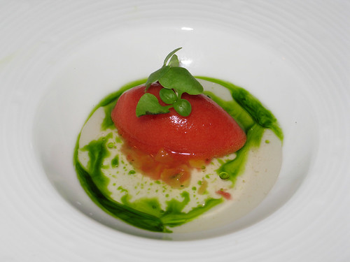 Heirloom Tomato Sorbet