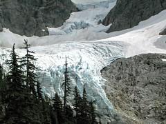 Mt Shuksan glaciers