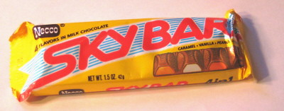 Necco Sky Bar Candy