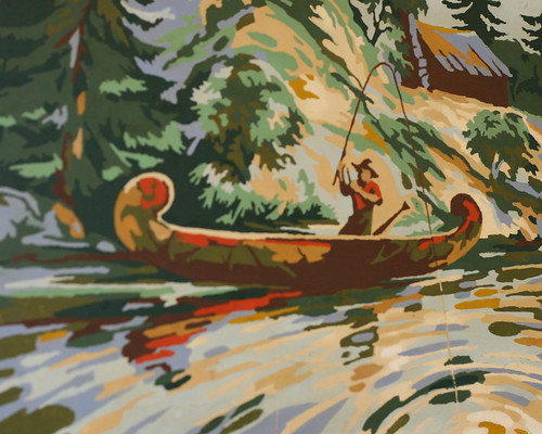 paint by numbers -fishing