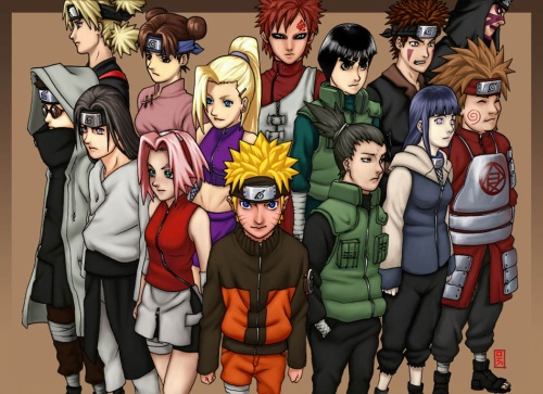 Naruto shippuuden characters. This is The Naruto Shippuuden characters.