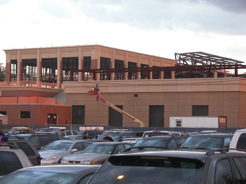 "Citi Field Brick Facade - birth of the new ""FanFest"" - September 2007"