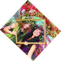 Twig and Zinnia Tilt our world (gbrummett) Tags: arizona fairy gilbertaz 50vf5 twigthefairy canonef50mmf12lusmlens canon5dmarkiidigitalcamera zinniathefairy magicphotoframe