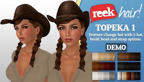 Reek Hair! Topeka 1