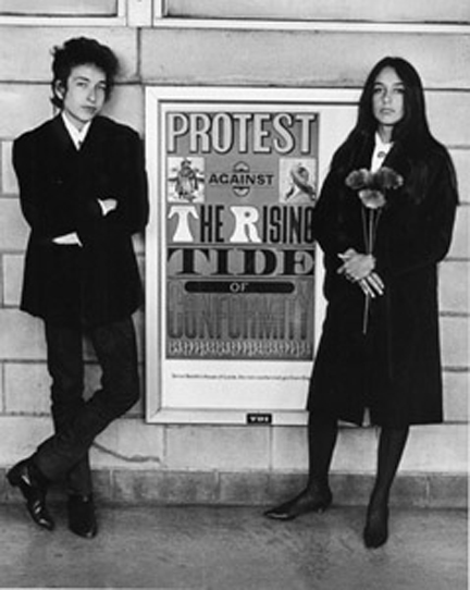 dkramer_Bob Dylan and Joan Baez
