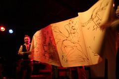 LastGaspCabaret@Satyricon (Sireneflux) Tags: friends music portland dancers or nightlife cabaret nightclubbing poets satyricon kittydiggins candykane performaneart stevenspyr