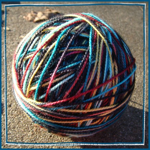 miss babs 'yummy' 2ply in colorway 'cleopatra'