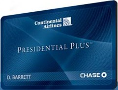 Continental Presidential Plus Card