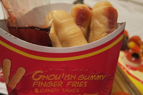 Halloween Candy: Finger Fries