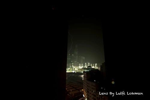 makkah thunder