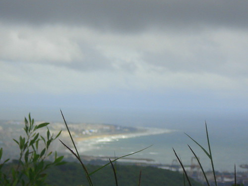 74 Vizag in the distance