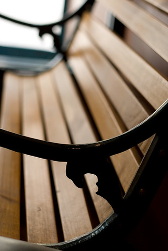 Photo by Steven Miller Band:  Swiss Chalet Bench