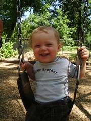 Samuel at the park