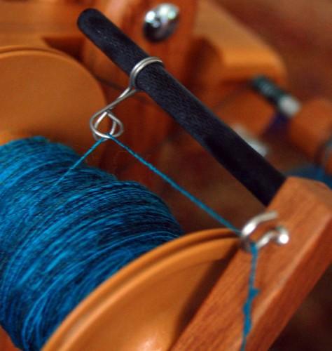 Blue Handspun