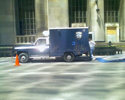gotham city bomb squad truck