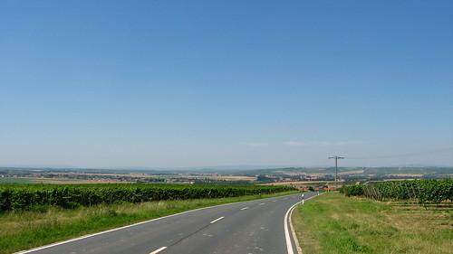 Hot day and big views near Mainz, Germany