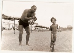 0059 (nynewe.archive) Tags: summer vacation sunshine child grandpa bulgary
