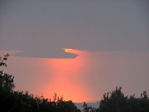 Ngorongoro Crater Caldera sunrise