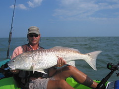 northpaw red (kayakfishingmachine) Tags: fishing kayak redfish show2