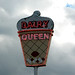 Vintage Dairy Queen sign