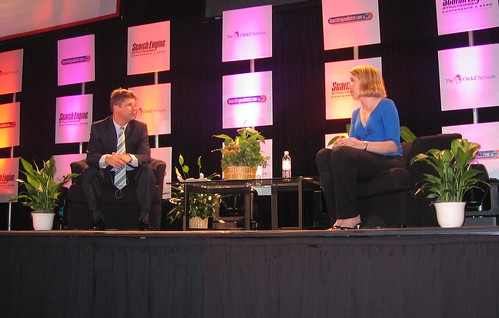 Danny Sullivan and Marissa Mayer - SES San Jose 2007
