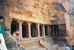 Badami - Cave Temples (mebooyou) Tags: india 1996 temples cave karnataka badami