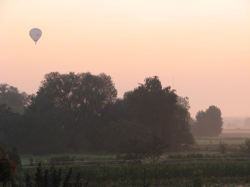 Ballon am Morgen