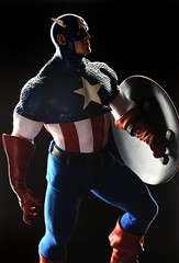 Captain America (PowerPee) Tags: toys philippines statues captainamerica collectibles avengers sideshowcollectibles powerpee