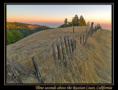 Above Fort Ross, CA (MistyDays / CB) Tags: california trees seascape nature grass fence landscape coast dof natural pacific pacificocean sonomacounty pastoral grasslands oldfence fortross charleneburge 1on1landscapes stormygirl 123landscapes flickrdiamond flickrdiamon redwoodfence fortrossroad russiancoast photographinglandscapes meyersgrade