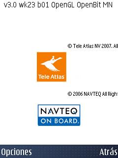 Versión original del Nokia Maps en el N95