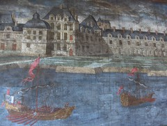 Fontainebleau vers 1680