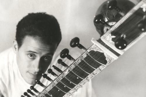 Amos and the sitar