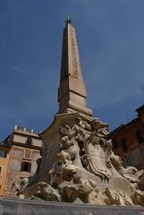 萬神殿(Pantheon)前的方尖碑