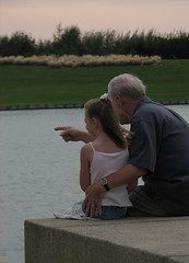 Grandfather & Grandaughter Moment