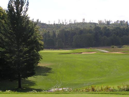 11th hole, Heathlands Golf Course, Onekama, Michigan